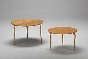 Two Bruno Mathsson Tables