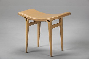 "Bruno Mathsson Stool ""Anna"""