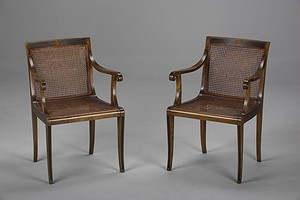 Pair of Malmsten Armchairs