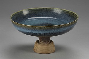 Large Farsta Footed Bowl