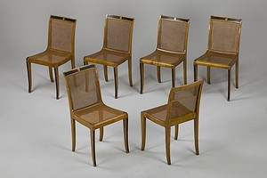 Set of Six Malmsten Chairs