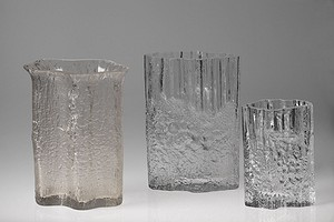 Three Iittala Vases