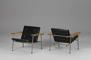 Pair of Triennale Chairs