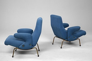 Pair of Dolphin Chairs