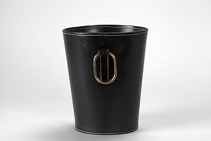 Leather Paper Basket