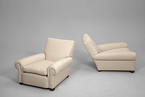 Pair of Deep  Armchairs