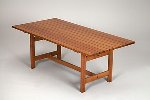 Oregon Pine Desk Table