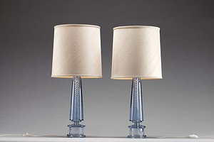 Pair of Murano Table Lamps