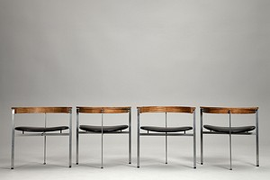 Four PK11 Chairs