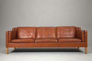 Mogensen Leather Sofa