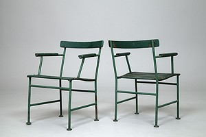 Two Asplund Garden Chairs