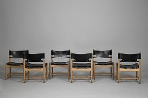 Six Mogensen Chairs