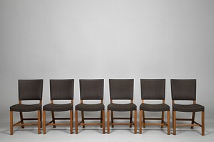 Set of Six Klint Chairs