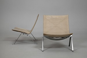 PK22 Canvas Chairs