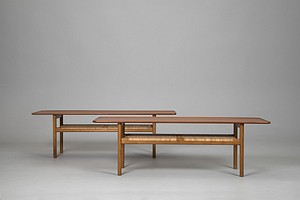 Two Wegner Coffee Tables