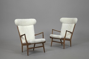 Pair of Wegner Armchairs