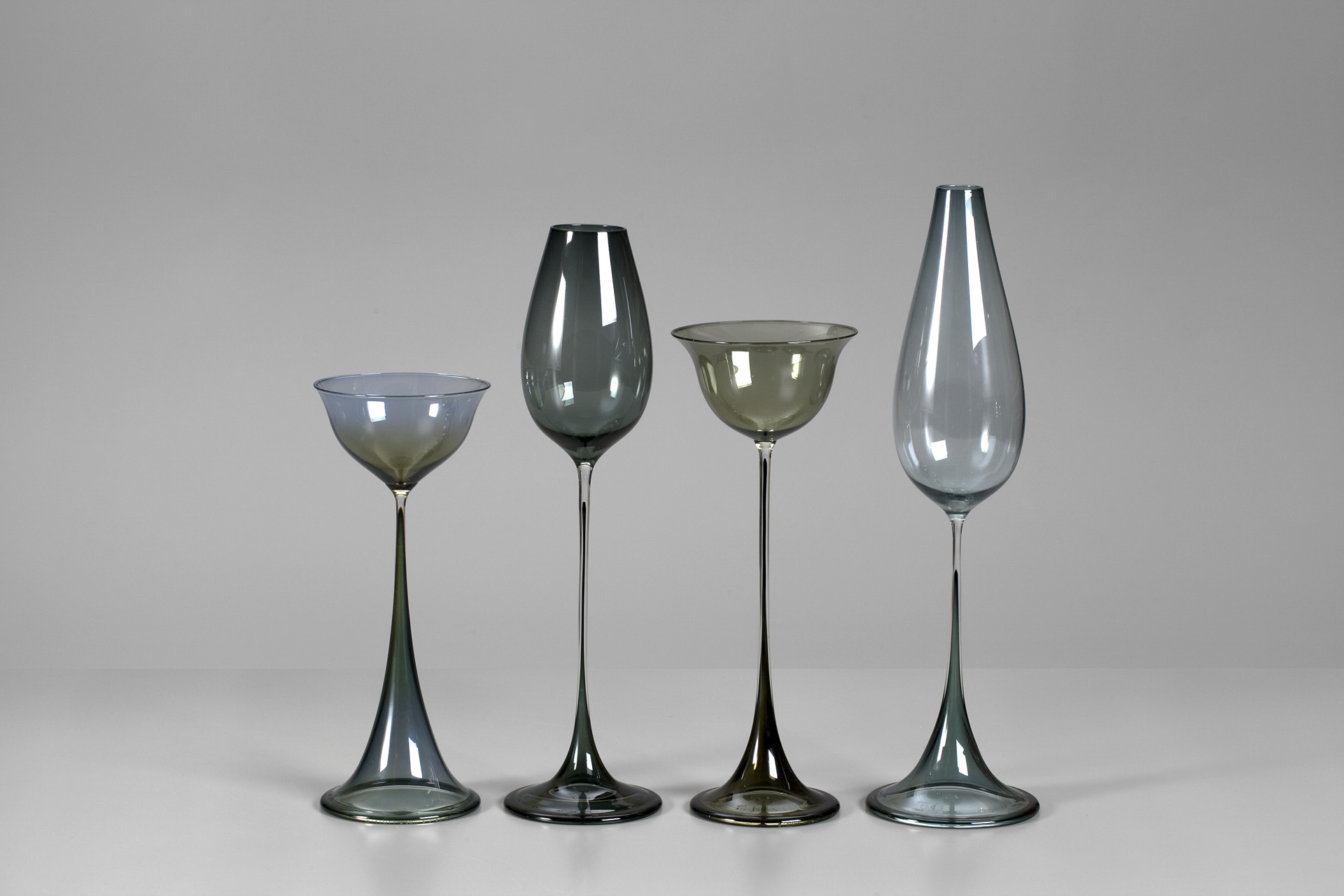 Group of Tulip Vases