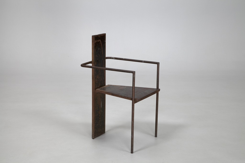 "Jonas Bohlin ""Iron Concrete"" Chair"