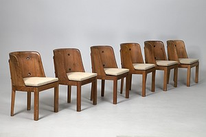 Set of Ten Hjorth Dining Chairs