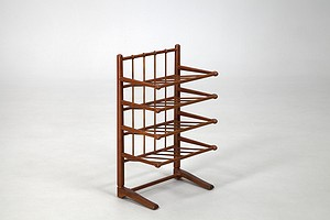 Josef Frank Magazine Shelf or Wine Rack