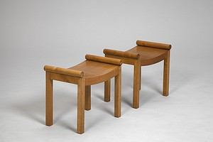 Pair of Thirties Stools