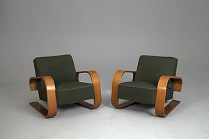 "Pair of ""Tank"" Chairs"
