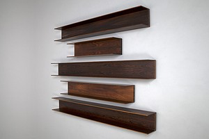 Five Hanging Wall Shelves