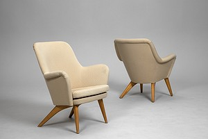 Pair of Finnish armchairs