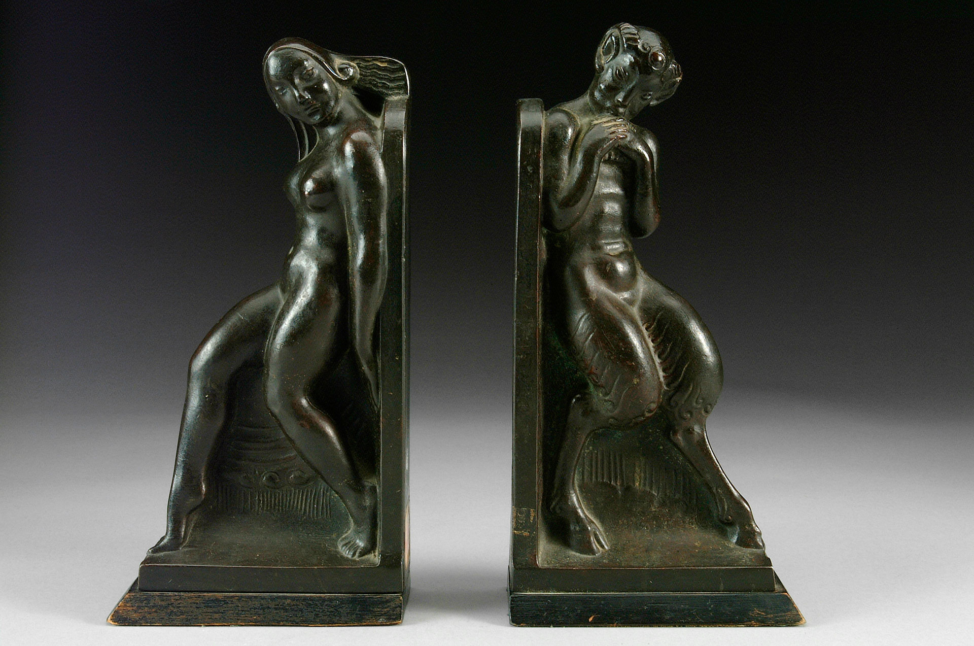 Axel Gute - Pair of Book Ends