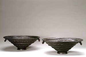 "A pair of ""Shell Urns"""