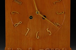 Carved Table Clock