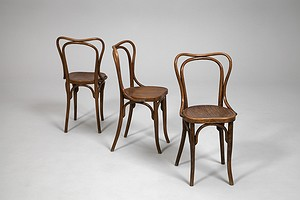Three Cafe Chairs