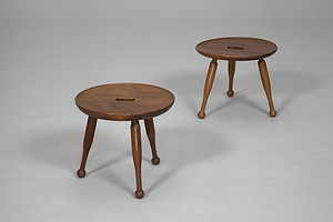 Pair of Josef Frank  Stools