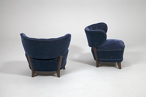 Pair of Otto Schultz Chairs
