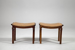 Pair of Neoclassical Stools