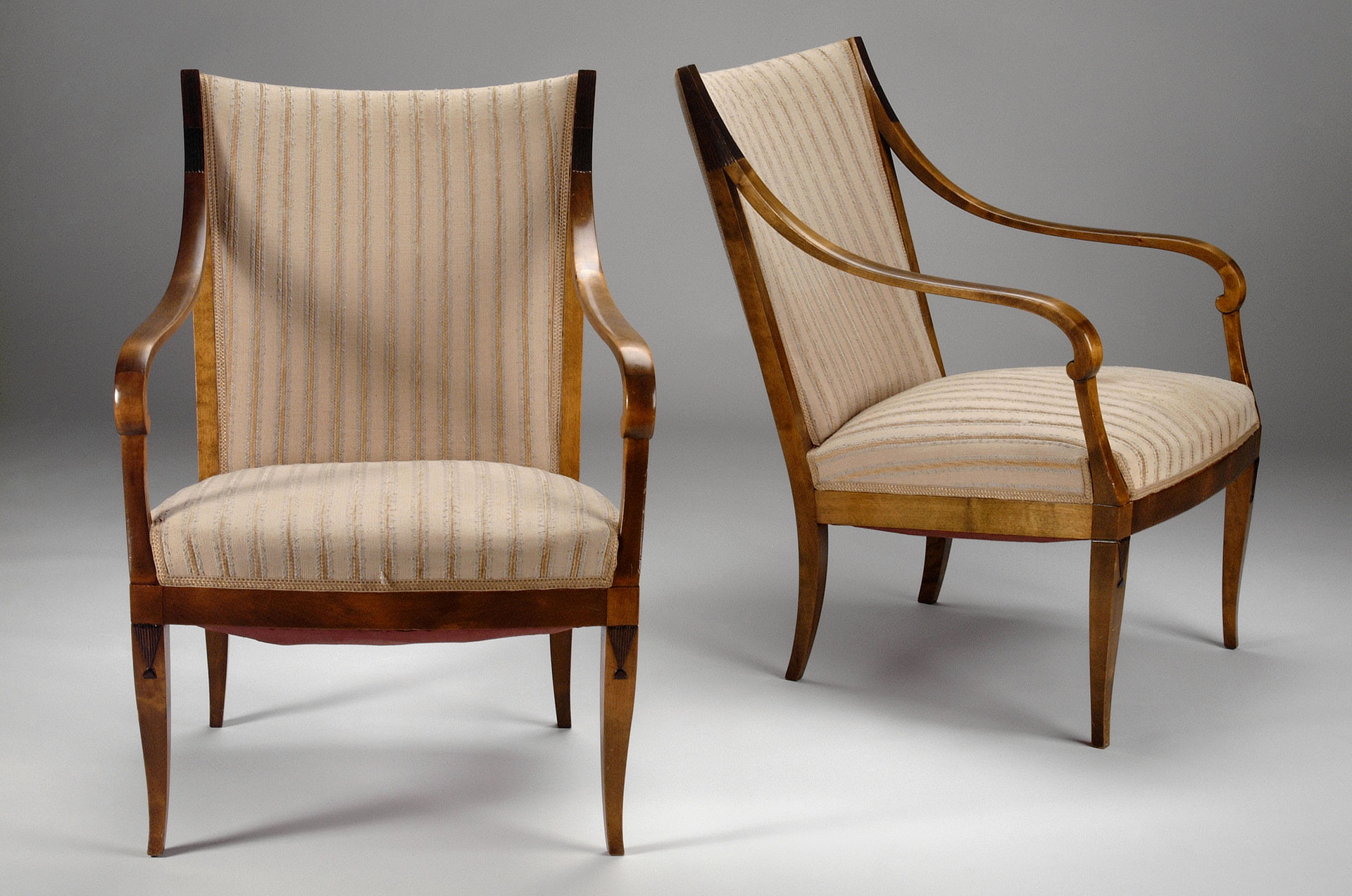 A Pair of Malmsten Armchairs