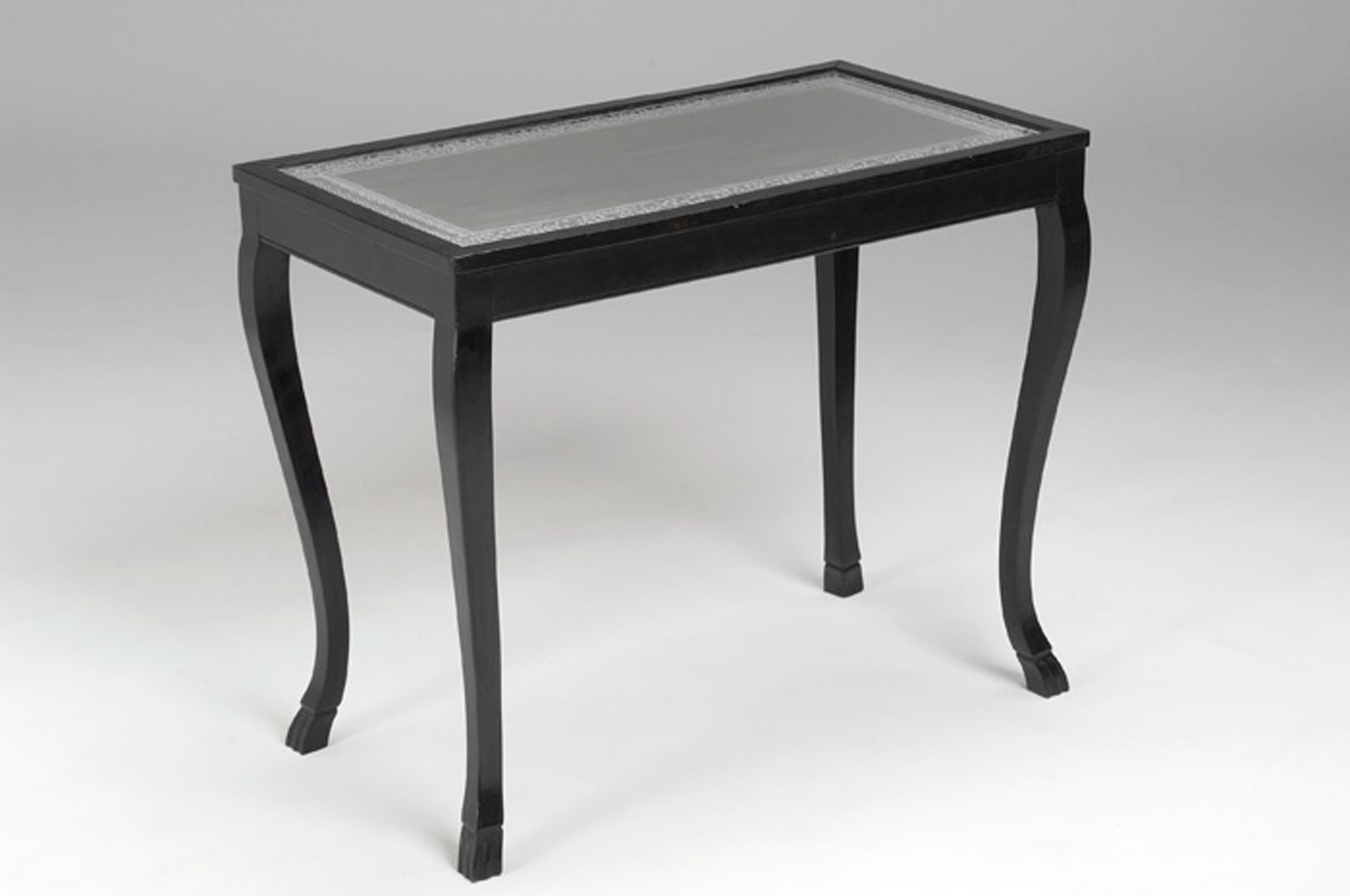 Pewter Top Table