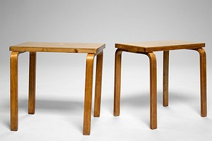 Pair of Aalto Side Tables No. 88