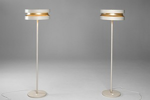 Pair of Pape lamps