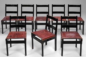 Set of Eigh Chairs