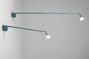 Pair of Triplex lamps