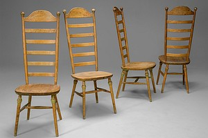 Four Highback Chairs