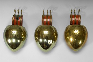 Three Sconces