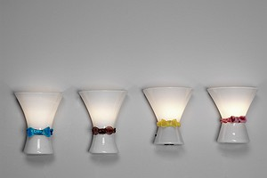 Two Pairs of Bianconi Lamps for Venini
