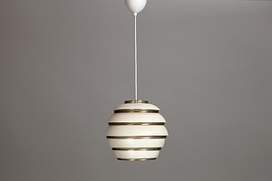 "White Aalto ""Beehive"" Lamp A331"
