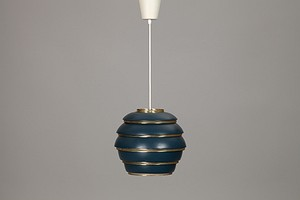 "Blue Aalto ""Beehive"" Lamp A331"