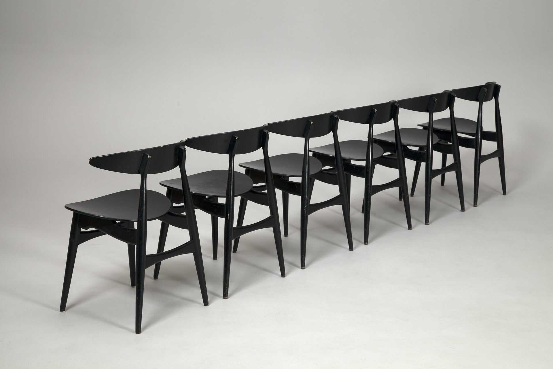 jacksons ch 33 chairs hans j wegner. Black Bedroom Furniture Sets. Home Design Ideas