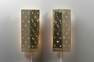 Pair of Tynell Wall Lamps
