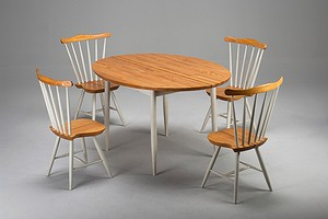 Set of Pelimanni Table and Chairs