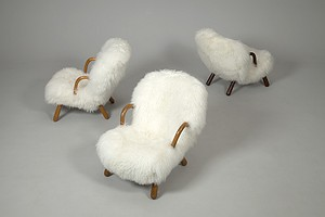 Arctander Sheep Skin Chairs